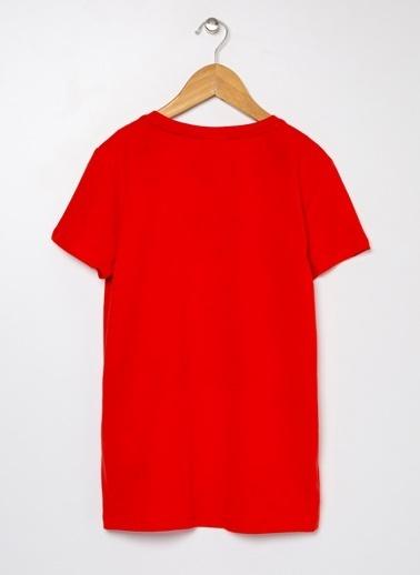 U.S. Polo Assn. U.S. Polo Assn. Açık Kırmızı Erkek Çocuk T-Shirt Kırmızı